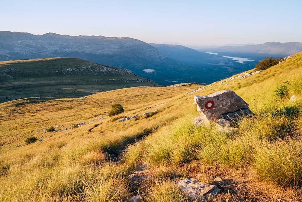Dinaric Alps landscapes