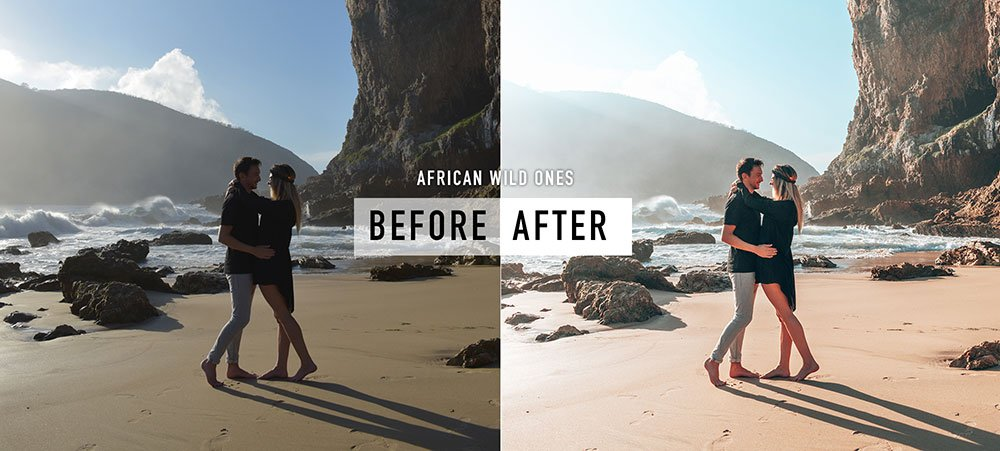 HFFH Wanderlust Lightroom Presets Collection - Before and After Example