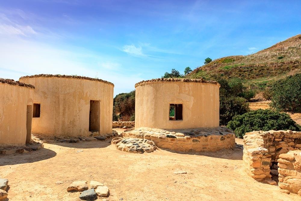 Khirokitia (Choirokoitia) in Cyprus