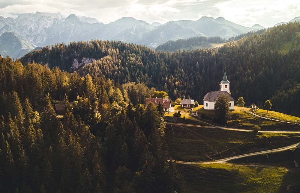 Views of the Slovenia Landscape