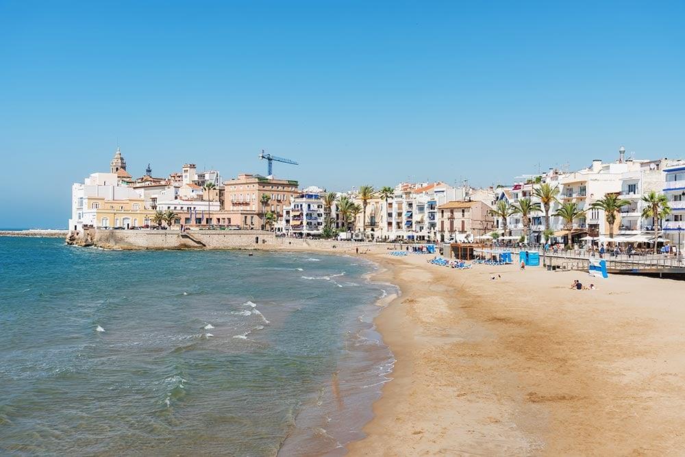 Stiges beach, Spain