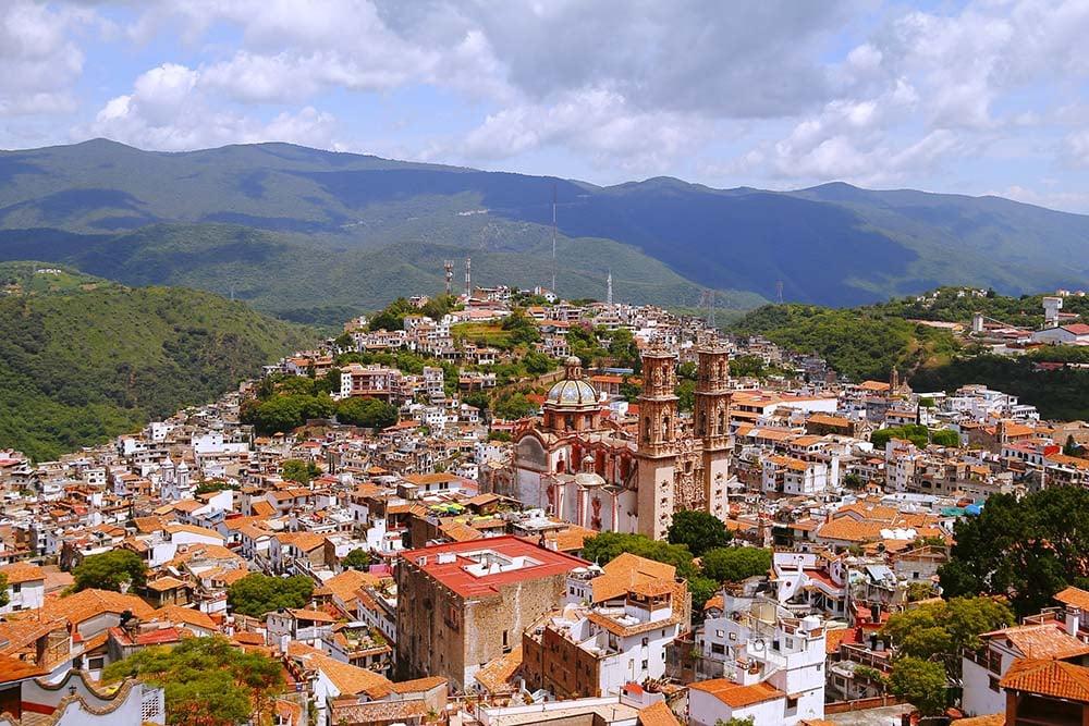Taxco skyline