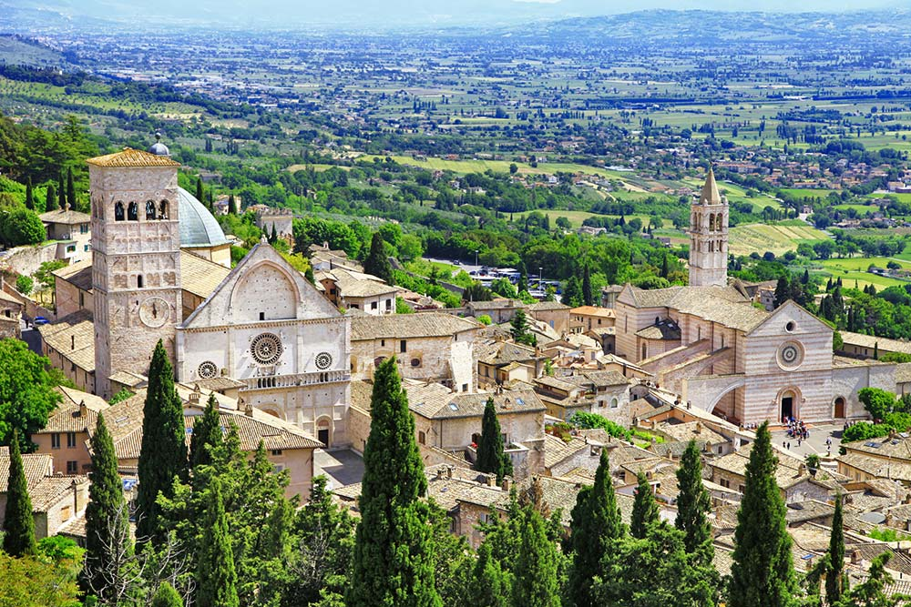 Town of Assisi, Italy