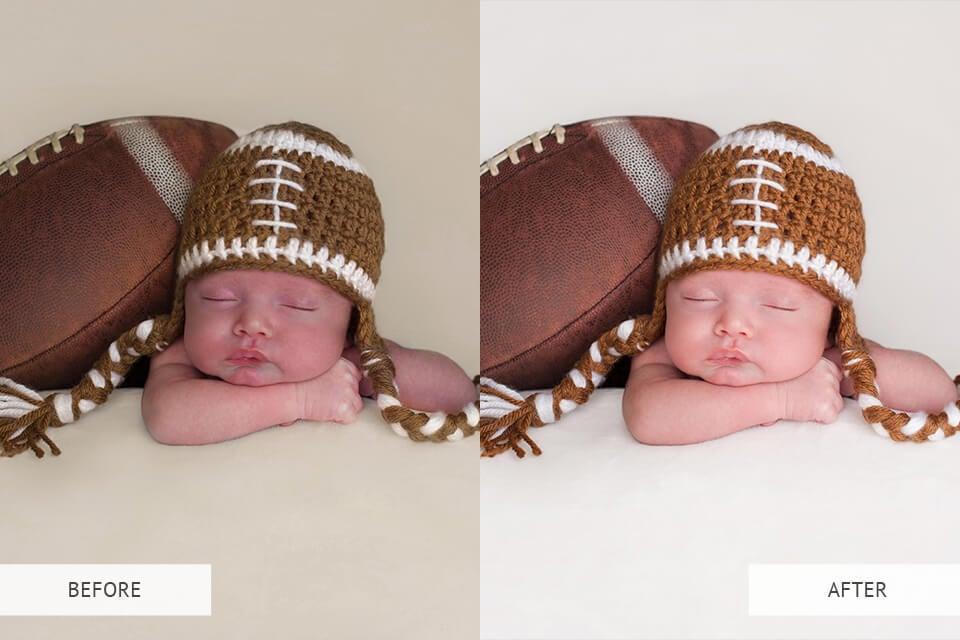 Newborn presets example