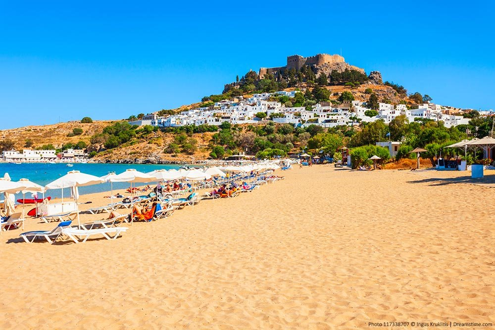 Beaches and Islands in Greece - Featured Image