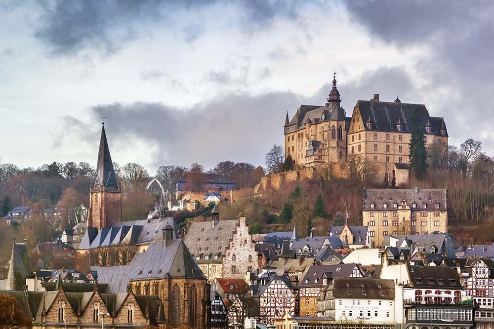 Marburg skyline