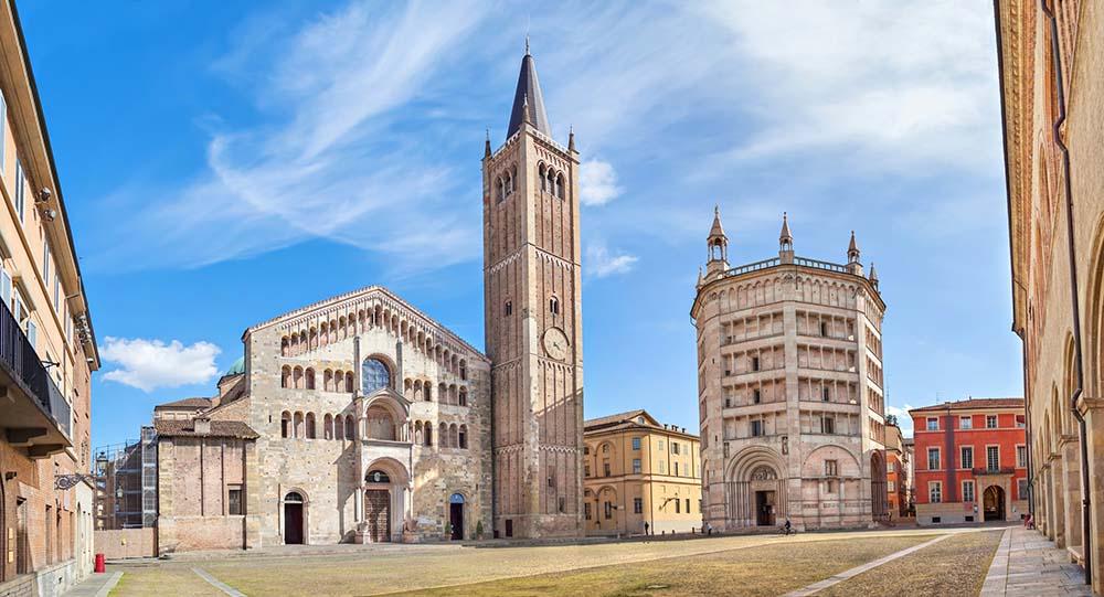 Piazza Duomo in Parma