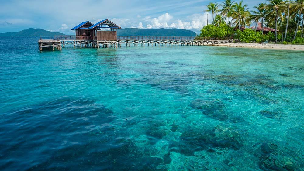 Pulau Arborek in Indonesia