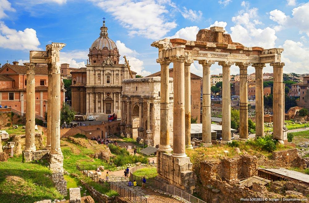 Rome Photo Spots - Roman Forum