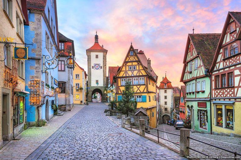 Towns in Germany - Rothenburg ob der Tauber