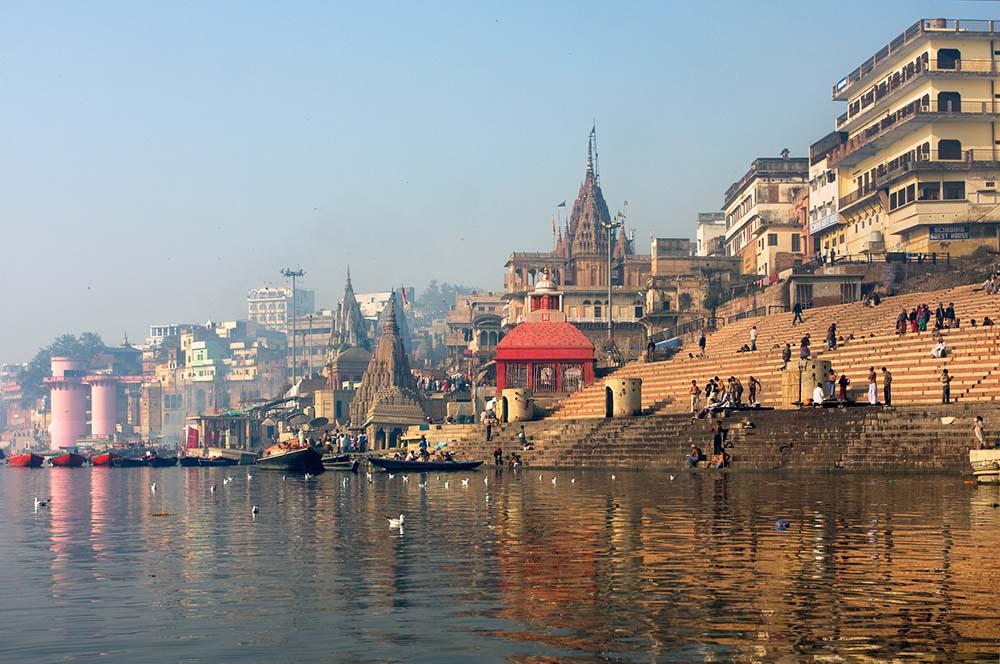 Varanasi along the Ganges