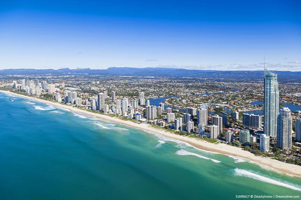 Views of the Gold Coast