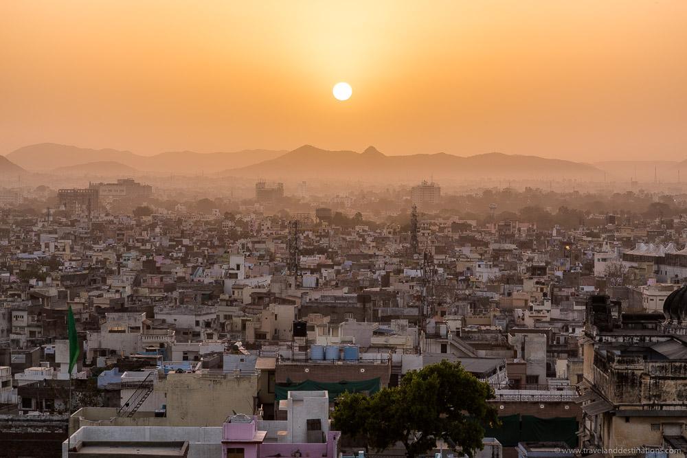 Cities in India - Udaipur at sunrise