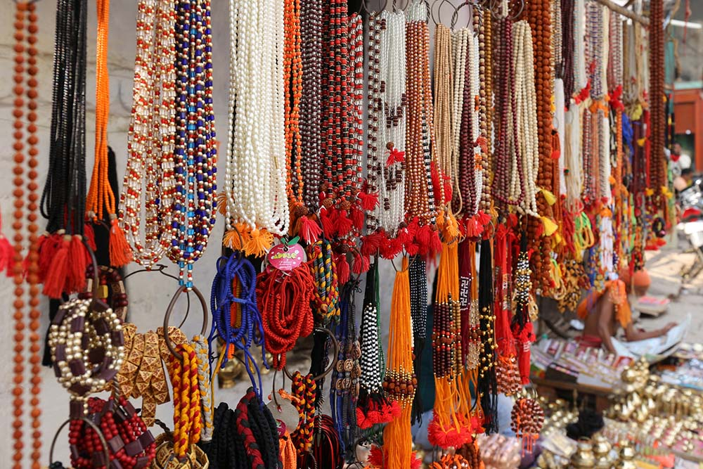 Items at shops in India