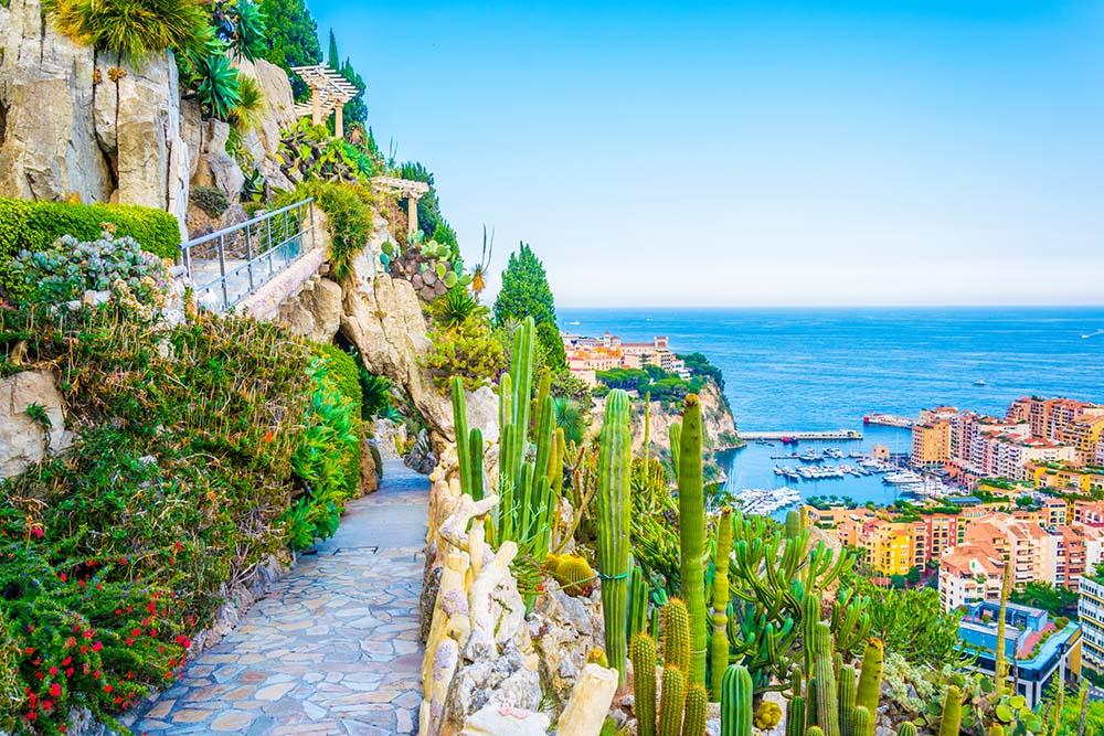 Jardin Exotique in Monaco