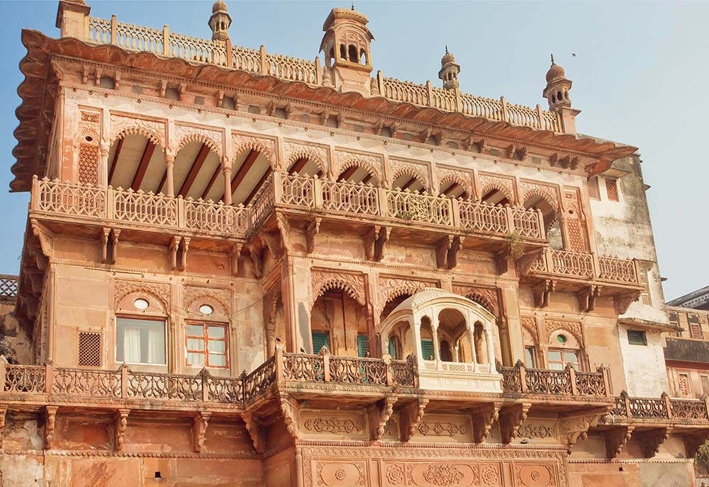 The exterior of Ramnagar Fort