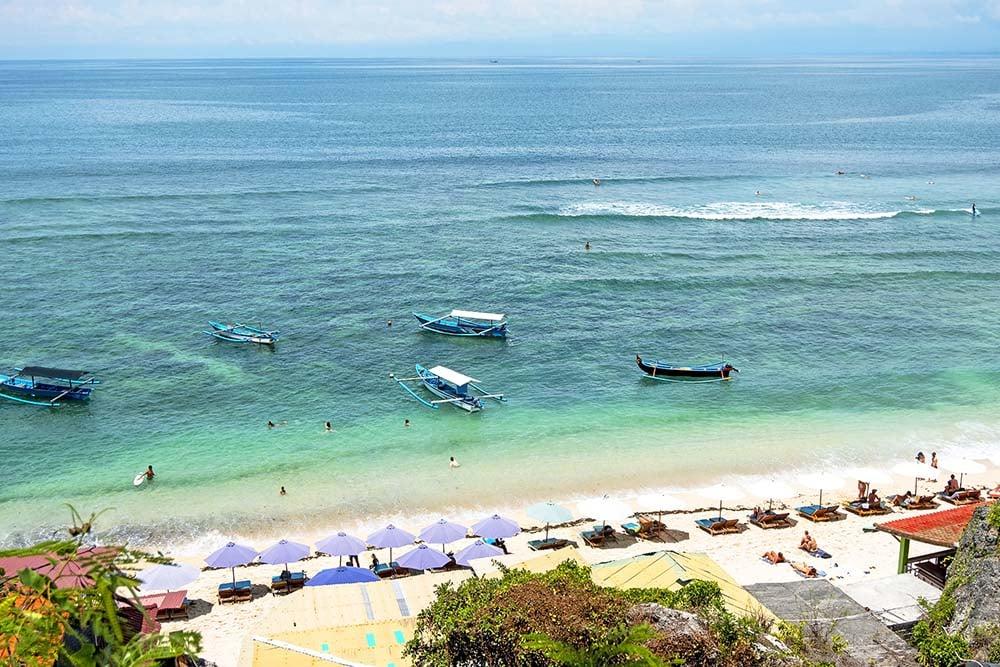 Views of Thomas Beach in Indonesia