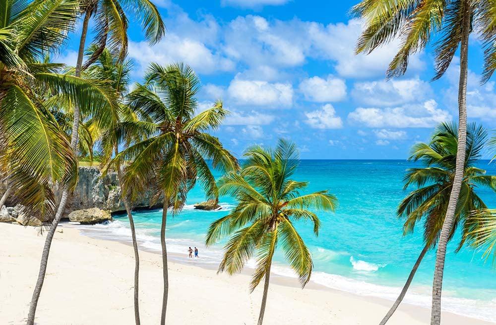 Bottom Bay in Barbados