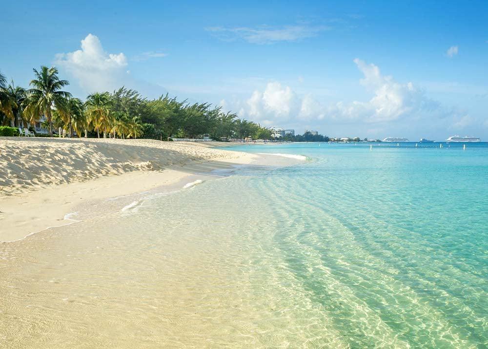 Seven Mile Beach on Grand Cayman island