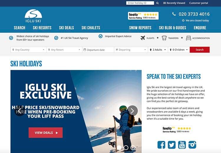 Iglu Ski screenshot