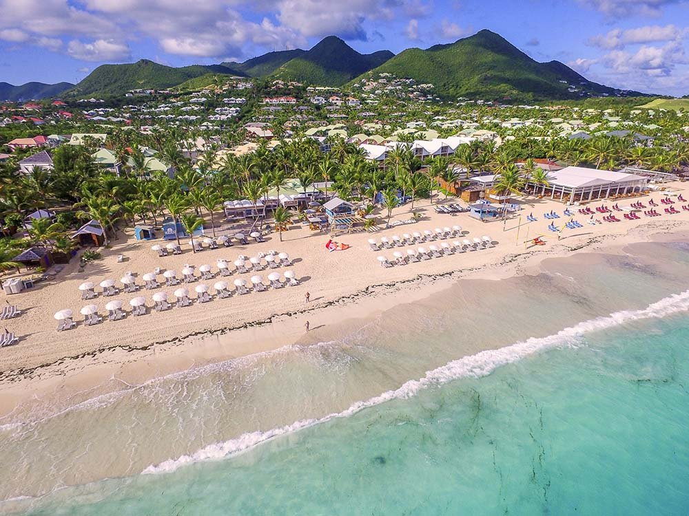 Saint Martin beaches