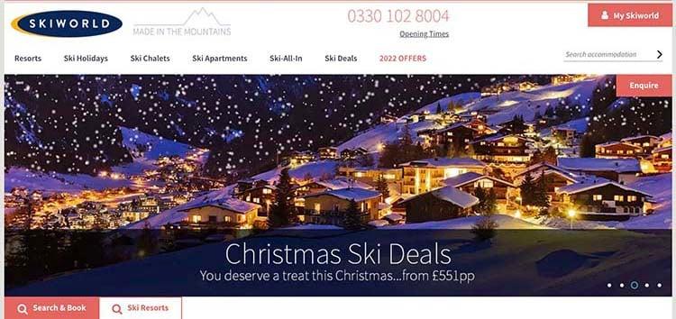 Skiworld screenshot