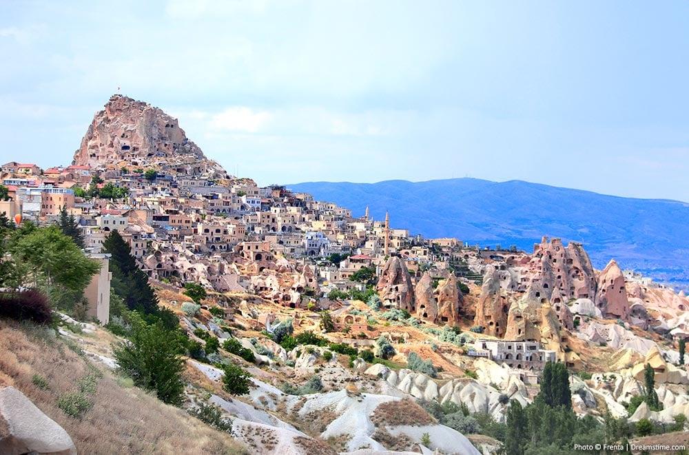 Turkey skylines - Uchisar