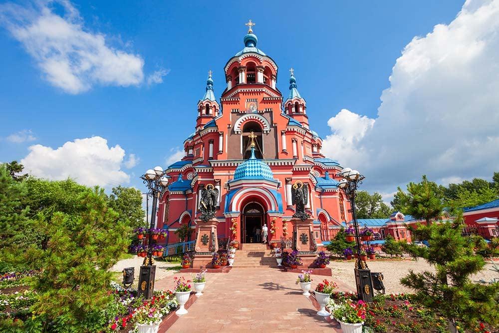 Cathedral in Irkutsk