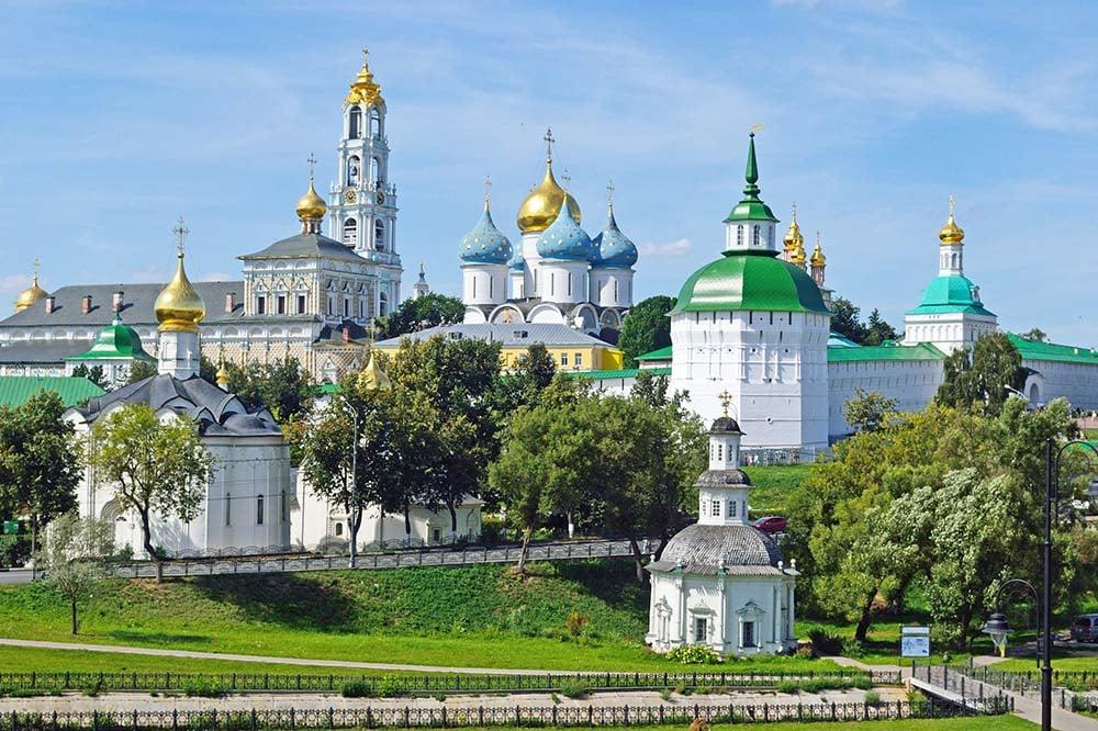 Holy Trinity Sergius Lavra in Sergiev Posad