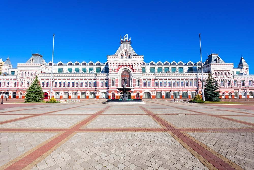 Nizhegorodskaya Fair in Nizhny Novgorod